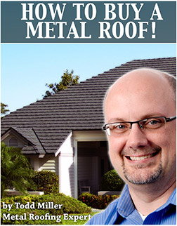how to buy a metal roof cover